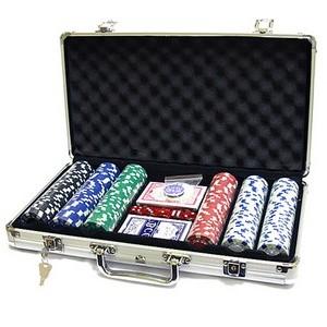 Наборы для покера 300 фишек